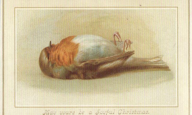 Νεκρά πουλιά, κότες σε έλκηθρα και Εωσφόροι: 23 εκκεντρικές (έως θεόκουφες) χριστουγεννιάτικες κάρτες της βικτωριανής εποχής