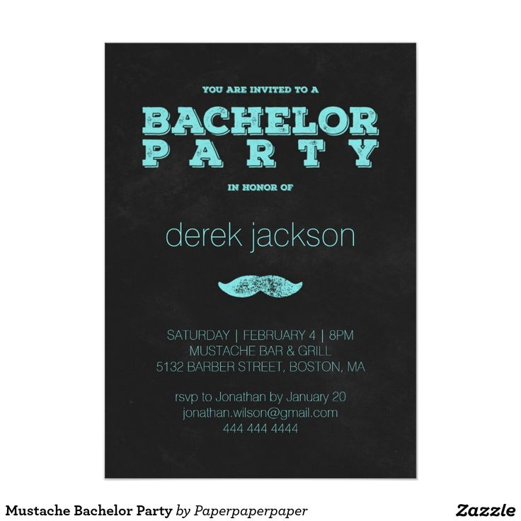 13 best Bachelor Party Invitations, Bucks Party images by Pepixel ...