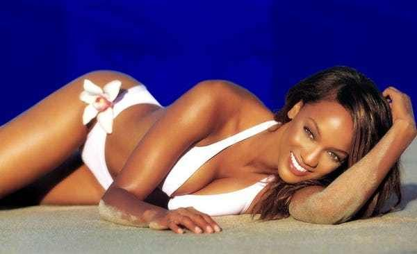 Photo collection of celebrity Tyra Banks, one of the hottest women in Hollywood. Tyra started modelling at the young age of 16. She has appeared in countless international magazines and ad campaigns. Many people remember her not just from her modeling, but also her acting, such as in the Disn...