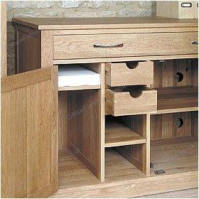 Cavalli Solid Oak Computer Desk Hideaway £494 - Computer Desks