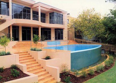Wet Edge Style Pools - Wet-Edge-1 by Sydney Pool Builder - Sunrise Pools