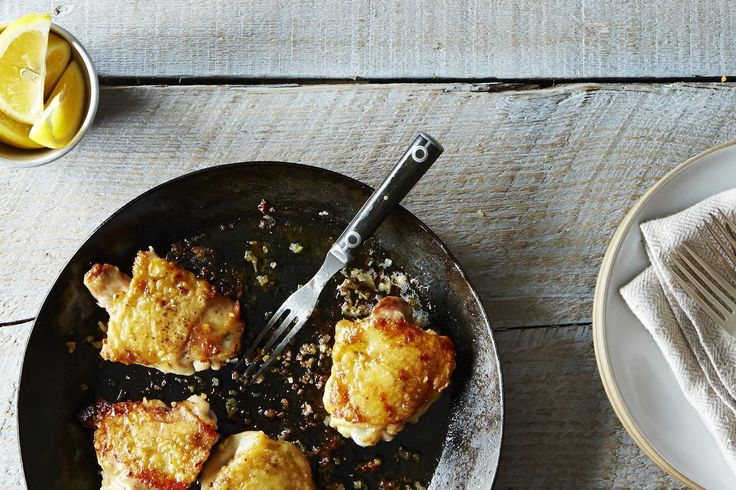 An excerpt (and a new favorite recipe) from the Genius Recipes cookbook: Canal House's Better-Than-Fried Chicken Thighs with Lemon.