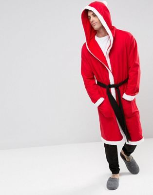 Loungewear Holidays Santa Robe - Comfy Men  Christmas Gift