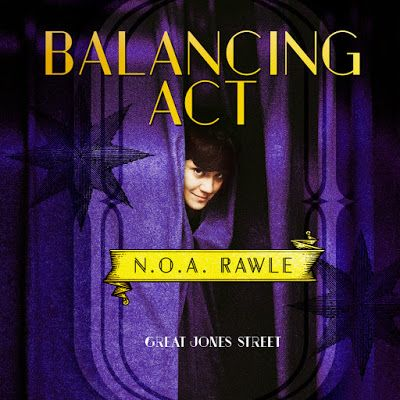 N.O.A. Rawle: Through the Eyes of a Stranger : Balancing Act Cover!