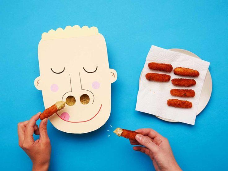 Una ricetta deliziosa a cui nessun bambino saprà dire di no. Lo spuntino delizioso... con le dita nel naso!
