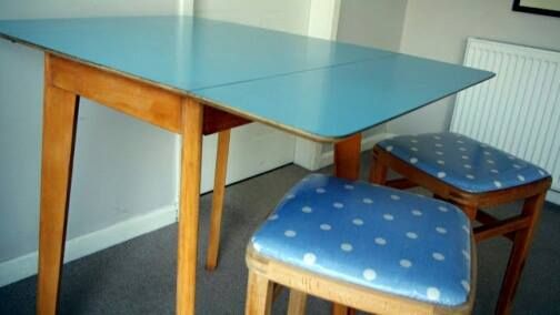 Eating your breakfast off one of these tables :)