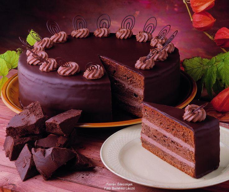 Klasszikus csokoládétorta
