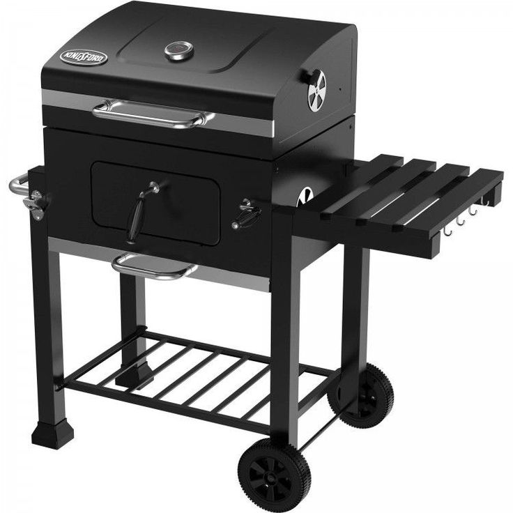 """Portable BBQ Grill Patio Garden Durable Cast Iron Grid Charcoal Barbecue 24"""" New #PortableBBQGrill"""