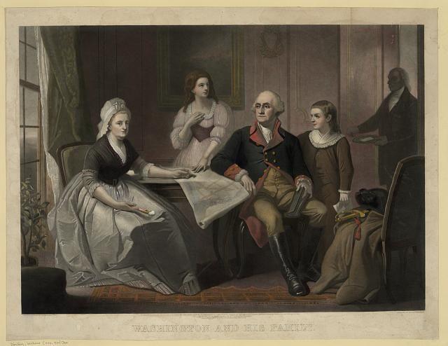 First Lady: Martha Dandridge Custis Washington | Map of Time | A Trip ...