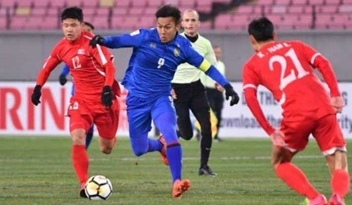 ไฮไลท์ฟุตบอล ทีมชาติไทย 0-1 เกาหลีเหนือ [ฟุตบอลชิงแชมป์เอเชีย U23]