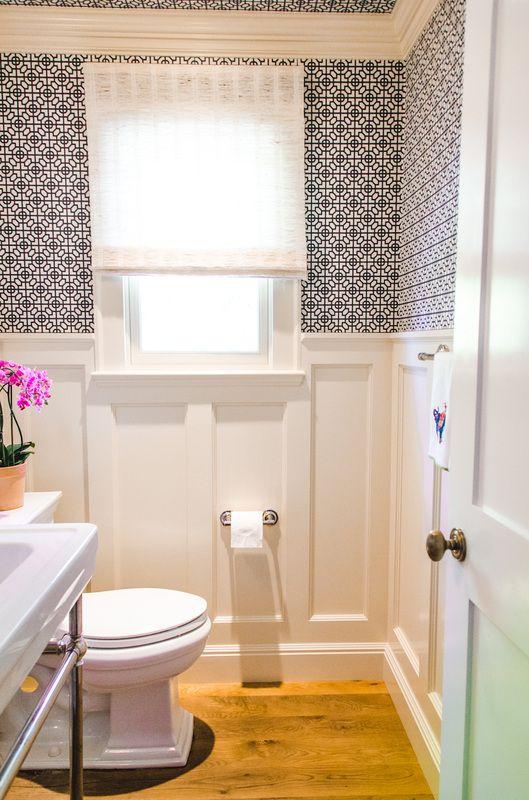 powder room – Evars + Anderson Interior Design