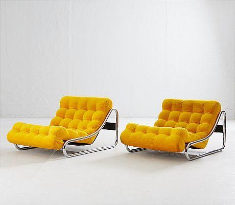 Gillis Lundgren för IKEA fåtöljer ett par