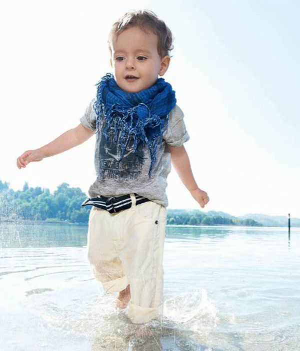 ,Baby Swag, Boys Style, Beach Pants, Kids Fashion, Big Scarves, Summer Beach, Baby Boys, White Pants, Little Boys