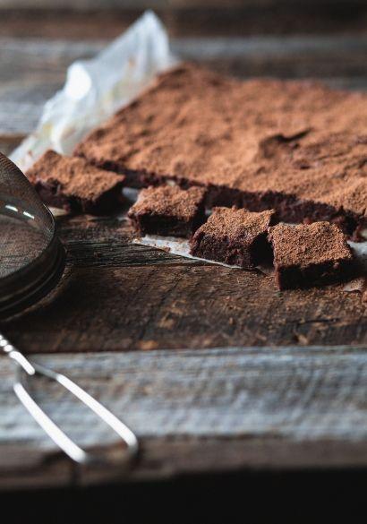 Purée de dattes au chocolat façon brownie