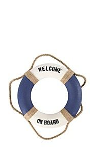 WELCOME ON BOARD LIFE RING
