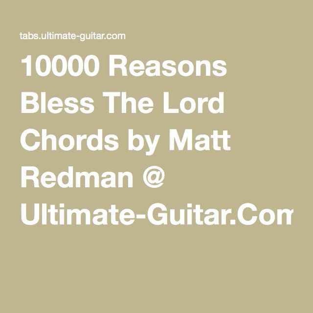 1000+ ideas about 10000 Reasons on Pinterest | Worship songs, O my ...