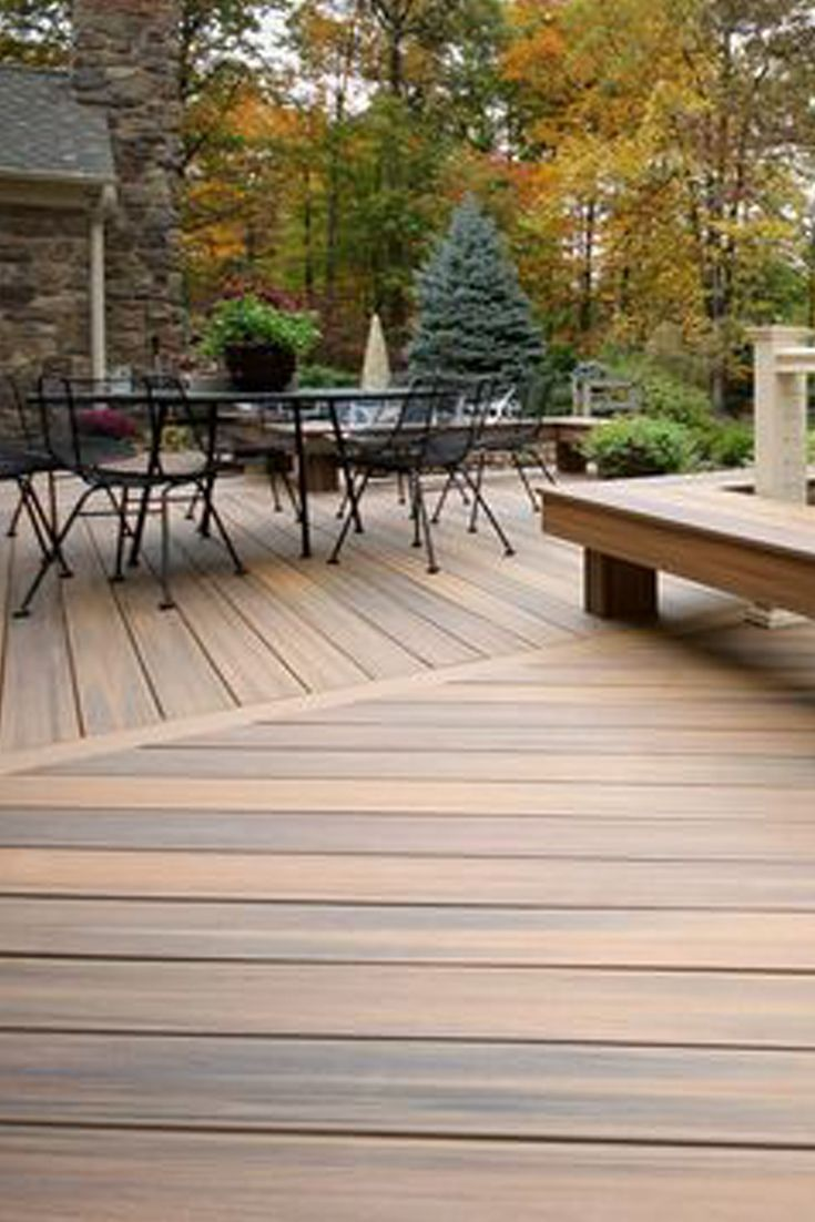 411 best composite decks by fiberon images on pinterest for Outdoor composite decking