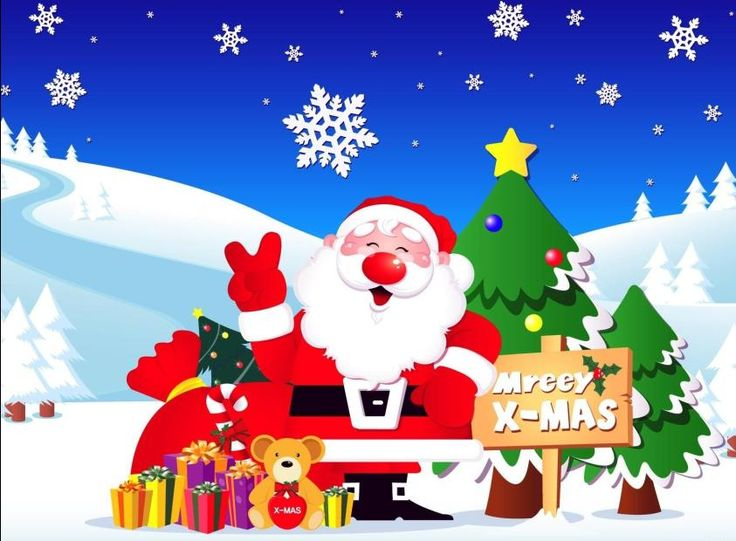18 Best Santa Claus Wallpapers Images On Pinterest