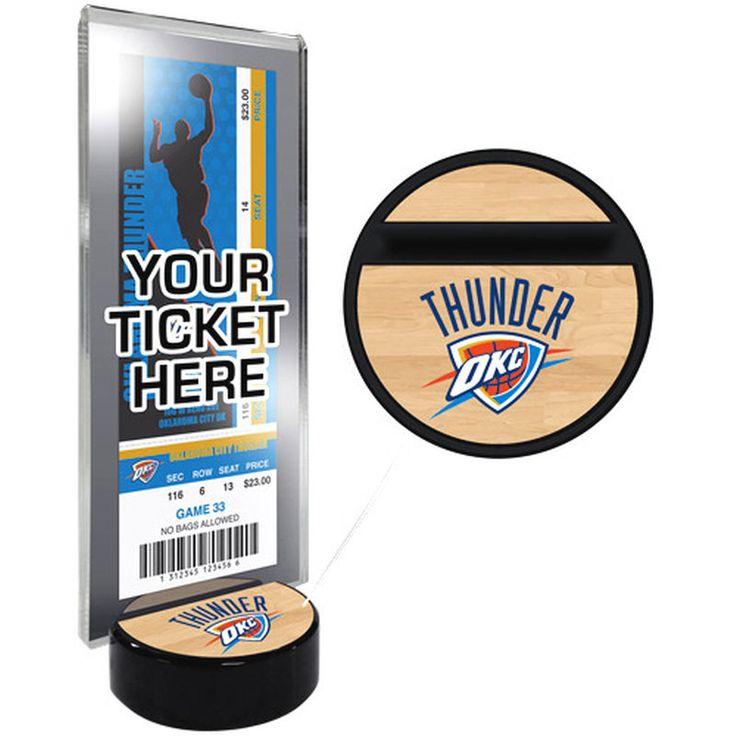 Oklahoma City Thunder Ticket Display Stand