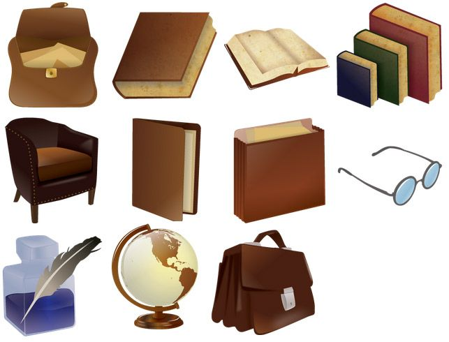 Free Iconset: Library Icons by Robin Weatherall