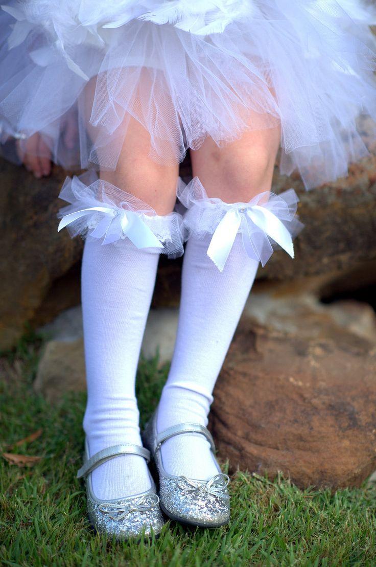Angelic White Lace Ruffle Socks White Lace Socks White