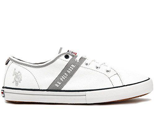 U.S. Polo Ralph Lauren Damen Canvas Sneaker weiß EU 41 - http://on-line-kaufen.de/u-s-polo-association-ralph-lauren/u-s-polo-ralph-lauren-damen-canvas-sneaker-weiss-eu