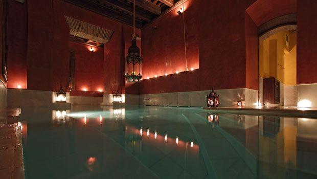 Baños Arabes sevilla seville stripped back travel arabic baths aire de sevilla