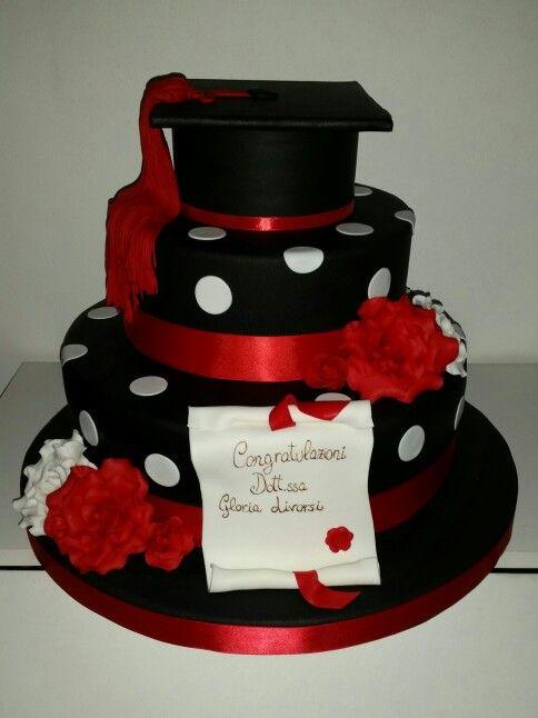 Torta laurea cake