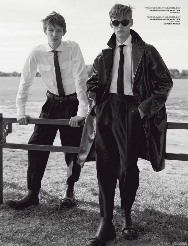 'The outsiders', editorial por Benjamin Alexander Huseby para VMAN Magazine Fall 2015 - Male Fashion Trends