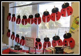 ladybug bulletin boards | ... on the ladybugs instead of a book review there you have it short