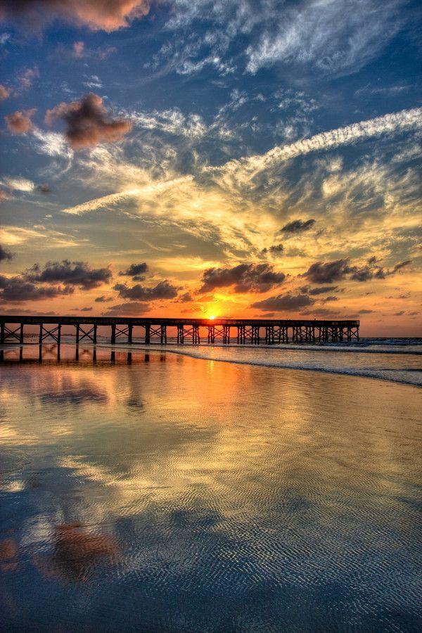 Sunrise Over Isle of Palms, South Carolina Copyright © Eric Morris.