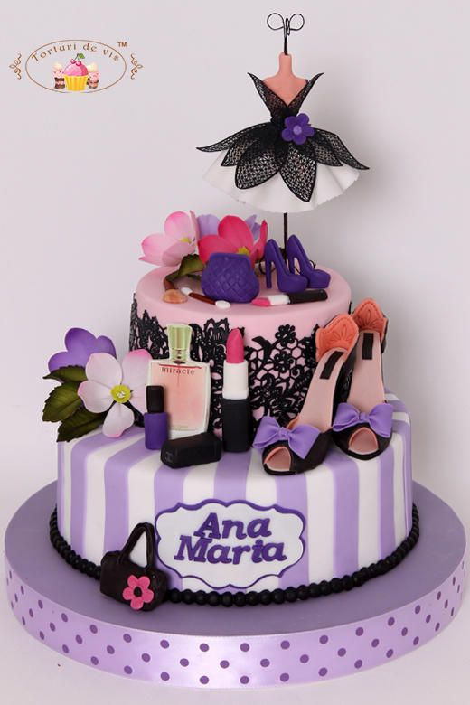 Fashion Cake Cake By Viorica Dinu Cakes And