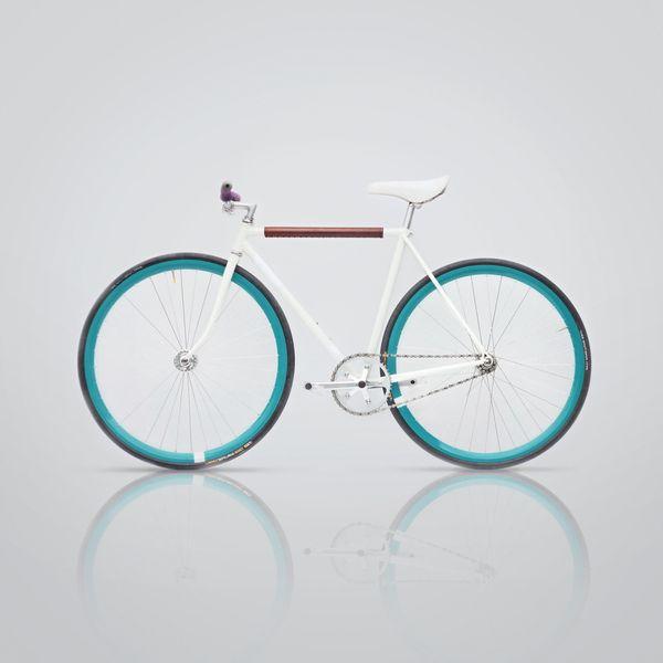 Fixed gear bike Fixed II by mark daavid, via Behance Via http://thedsgnblog.com/