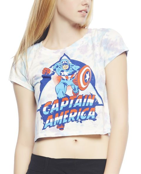 crop captain america