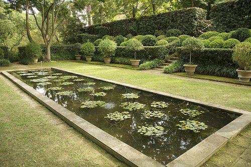 Giardini della landriana by russell page ardea italy for Garden giardini