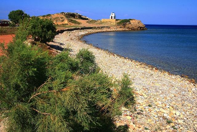 Turkomnima beach, Lipsi island
