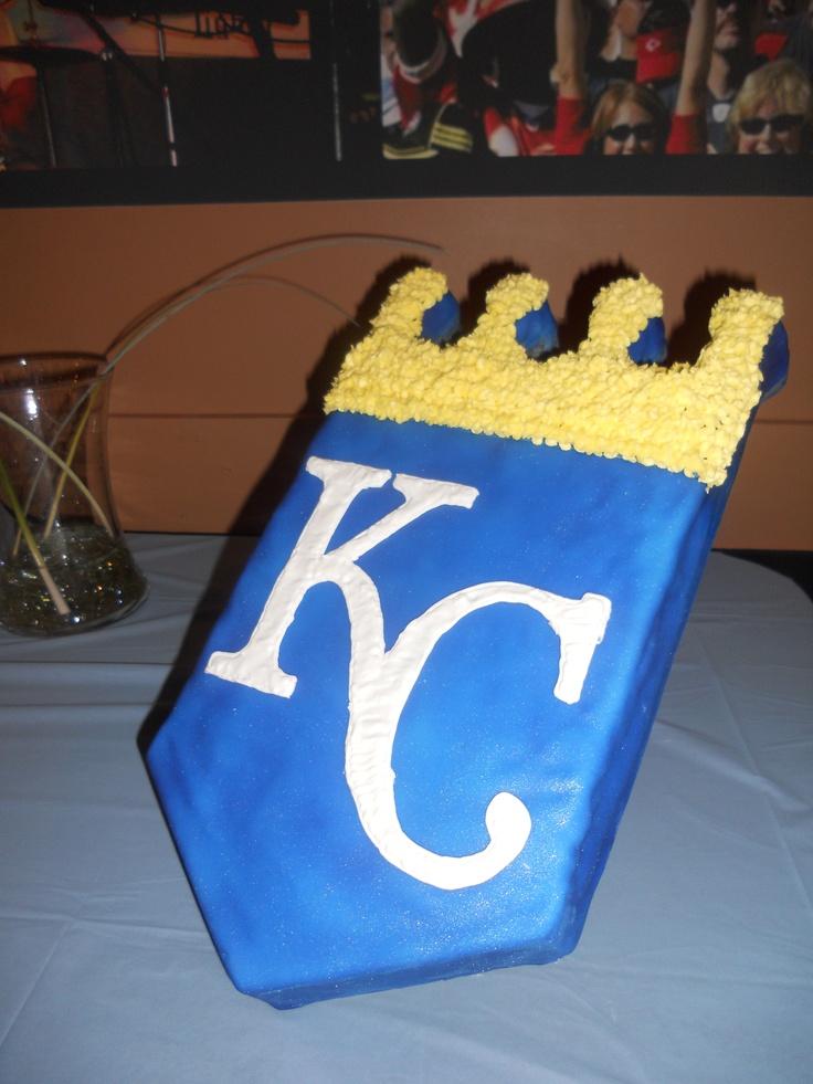 Kansas City Royals Wedding Cake