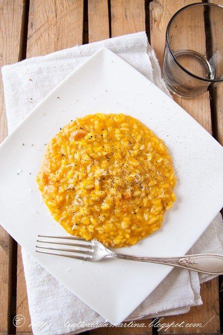 Doppia ricetta: risotto alla zucca col bimby e senza per festeggiare Halloween