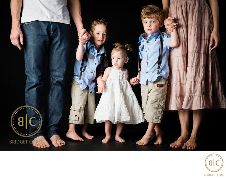 Bridget Corke Photography - Studio Family Shoot in Johannesburg: