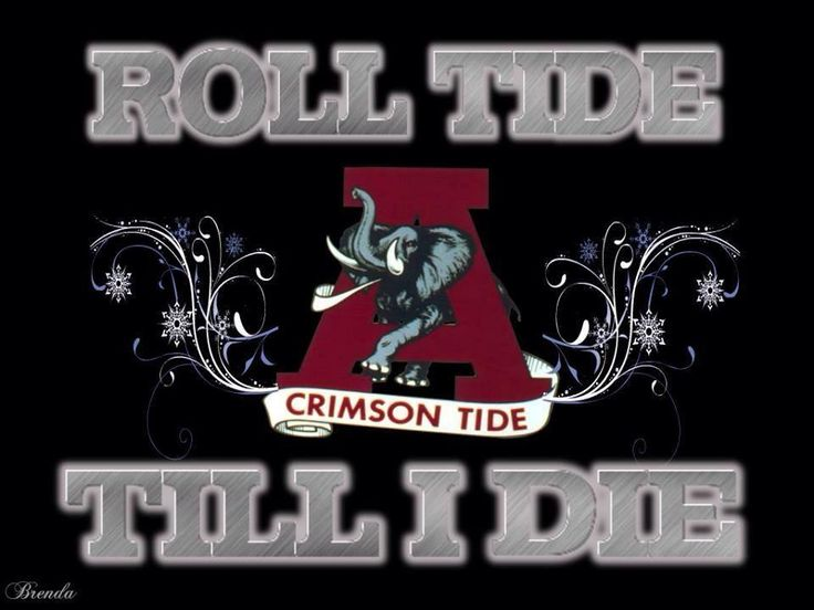 "THIS IS A PHOTO OF MY FAVORITE LOGO FOR MY FAVORITE TEAM ""ALABAMA CRIMSON TIDE FOOTBALL"" WHICH I FEEL BLESSED BECAUSE ""GOD SHOWED ME I WAS BORN TO BE A BAMA FOOTBALL FAN"" I LOVE ALABAMA FOOTBALL AND I WILL ALWAYS ""ROLL TIDE"" TILL I DIE!! ""RTR FOREVER!!"""