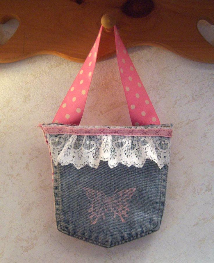 Shoregirl's Creations: Jean Pocket Purse