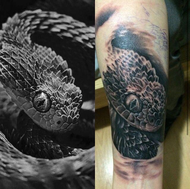 Snake in progress, 5 hours session so far.