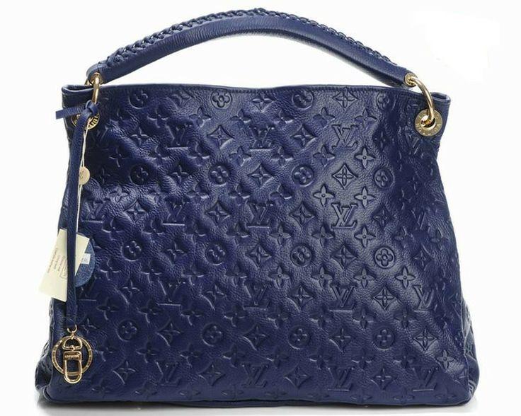 Louis Vuitton Genuine Leather Handbag M93450 - Blue http://www.cent-store.com/louis-vuitton-2012-new-arrivals-c-1_20_9_24_27.html