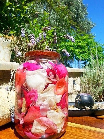 Eva In Tasteland: Λικέρ Τριαντάφυλλο.. Ροζόλιο το λένε οι γείτονες μ...