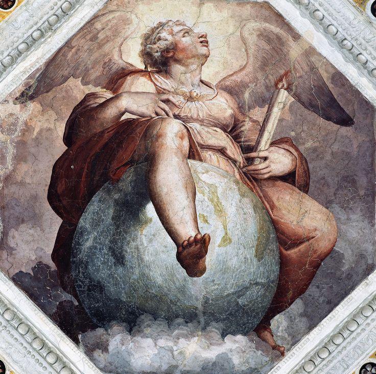 Giorgio Vasari - Sagrestia Vecchia - affresco - 1545 - Chiesa di Sant'Anna dei Lombardi, Napoli