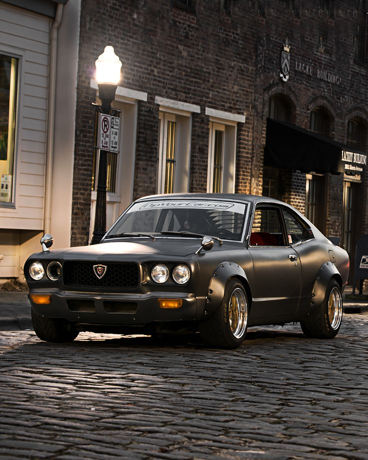 1973 Mazda RX-3.