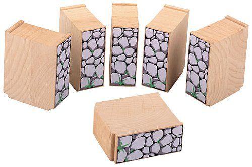 Maxim Enterprise 50465 Support Blocks: Wooden Tracks - Toys: Amazon.ca: Jeux et Jouets