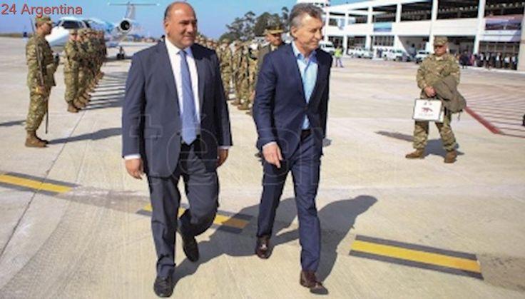 Macri y Manzur olvidaron diferencias durante la campaña electoral y se cruzaron elogios