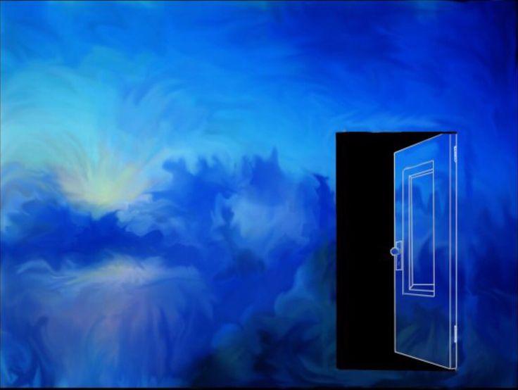 The Door of Perception  (2010) wet acrylic/ 24x36 #surrealism