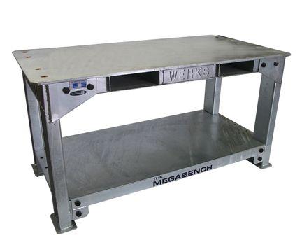 WERKS Mega Bench 6000kg. Buy Workshop & Factory Online - Materials Handling - Backsafe Australia: https://www.backsafeaustralia.com.au/products/workshop-factory